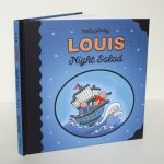 Louis – Night Salad the actual book!