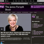 On BBC Radio Scotland's The Janice Forsyth Show