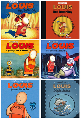 LOUIS graphic novels by Metaphrog