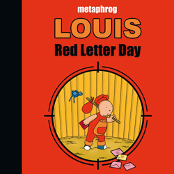 Louis Red Letter Day Cover