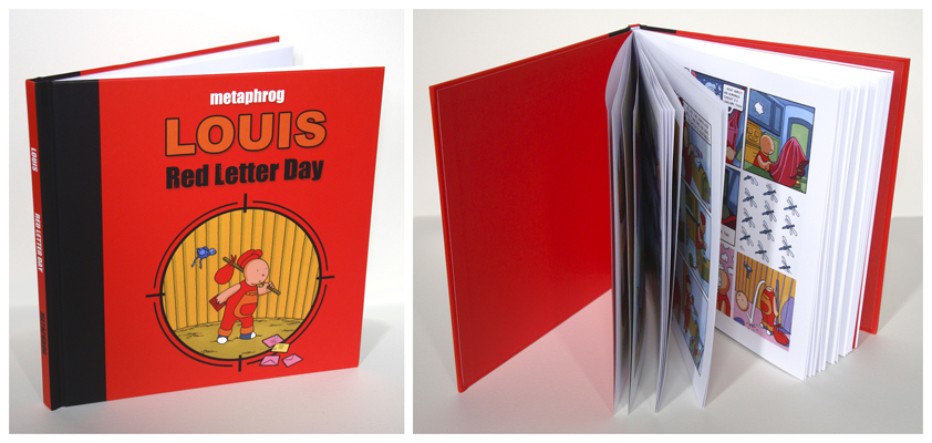 Louis Red Letter Day graphic novel by Metaphrog