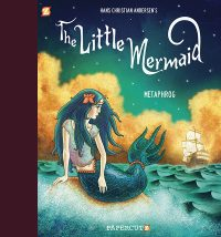 The Little Mermaid graphic novel cover by Metaphrog