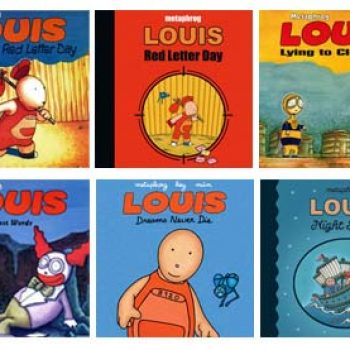 The Louis graphic novels by Metaphrog 2000-11