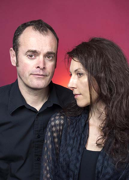 Photo of Metaphrog (John Chalmers and Sandra Marrs) by Bob McDevitt