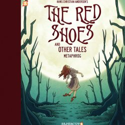 The Red Shoes and Other Tales graphic novel cover by Metaphrog