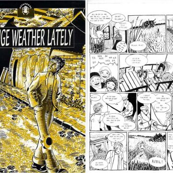 Our first comic, Strange Weather Lately Martin Nitram #1, Dec 1996