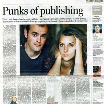 The Herald: Punks of Publishing 2004