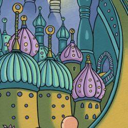 Illustration for Louis - Night Salad graphic novel by Metaphrog
