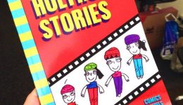 Graphic Novel Authors in Residence at Holyrood Secondary